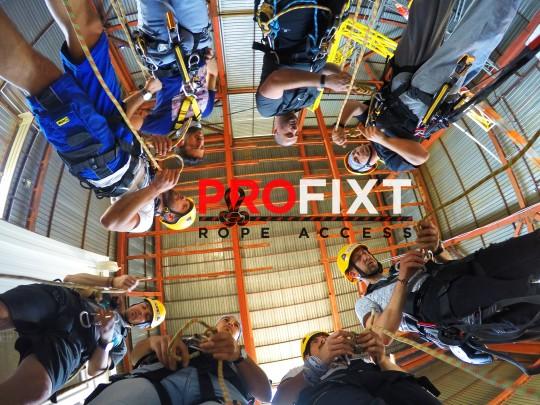 profixt - специализирани обучения за въжен достъп